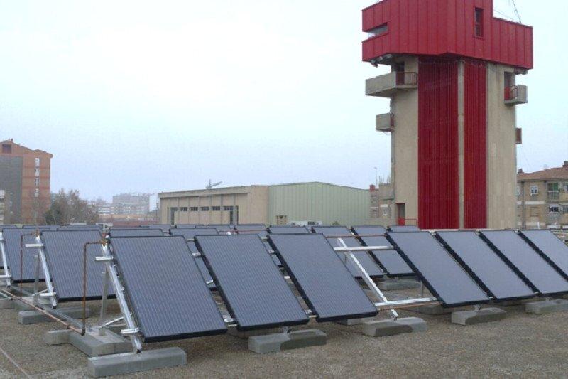Primera instalación pública en España de un sistema solar híbrido