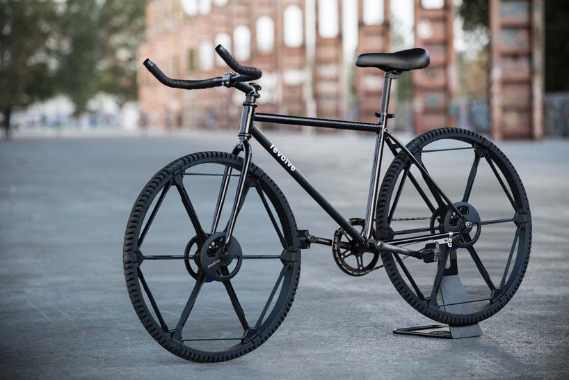 Revolve wheel neumático plegable sin aire