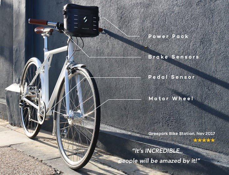 Cómo convertir una bicicleta en e-bike con Swytch