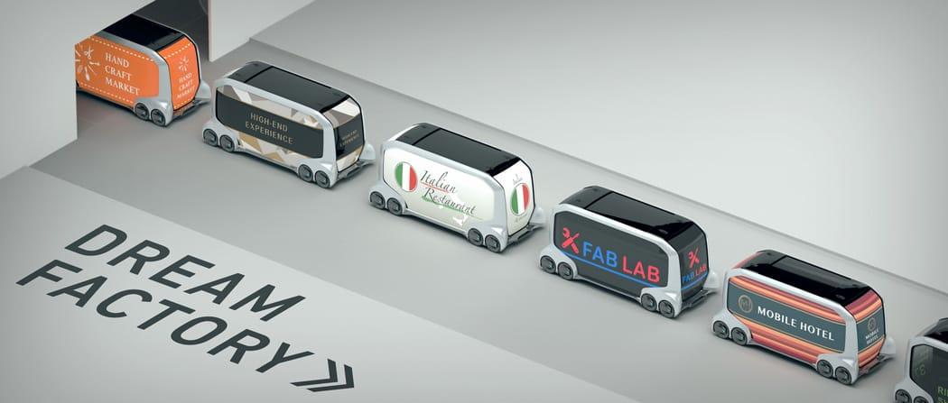 e-Palette Concept Vehicle, el nuevo vehículo eléctrico automatizado de Toyota