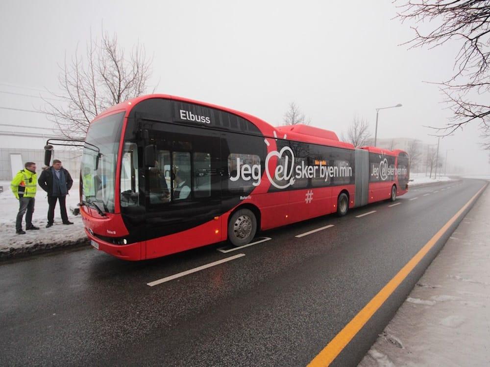 Primeros autobuses eléctricos articulados de Europa