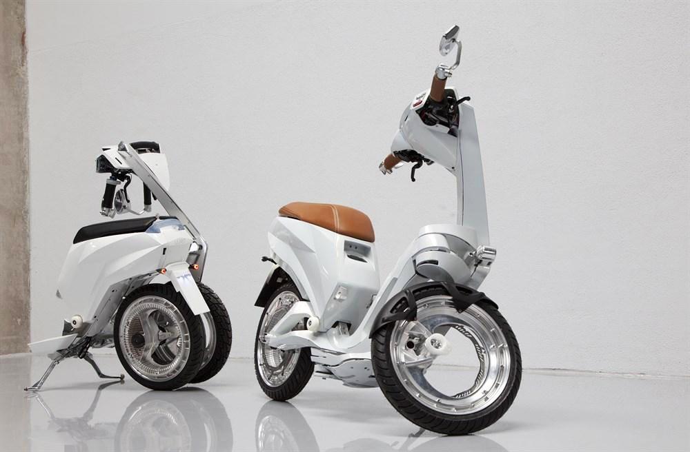 Ujet, un nuevo scooter eléctrico plegable para la ciudad a la venta en 2018
