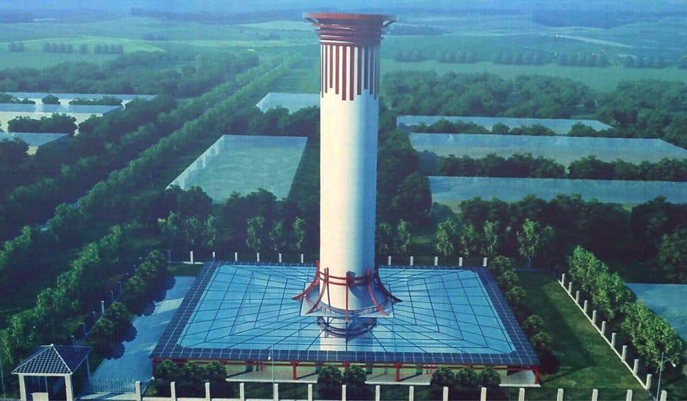 China planta cara a la contaminación con el purificador de aire más grande del mundo