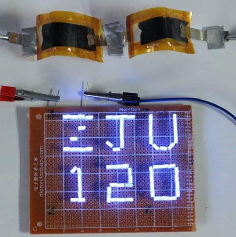 Batería ultrarrápida de aluminio y grafeno