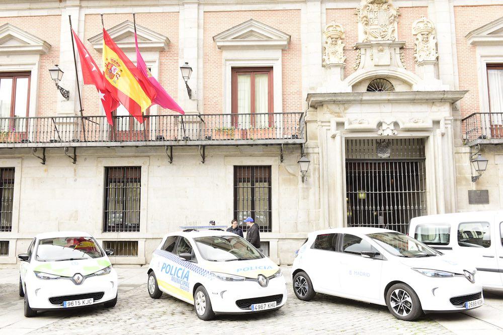 El Ayuntamiento de Madrid adquiere 76 nuevos vehículos eléctricos