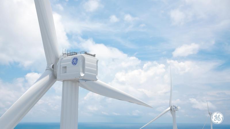 Haliade-X, una mega turbina offshore de 12 MW capaz de alimentar 5.000 hogares