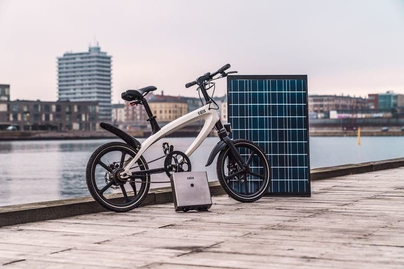 KVAERN, la primera bicicleta eléctrica off-grid