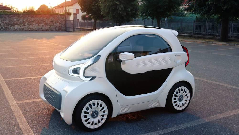 LSEV, un coche eléctrico fabricado en 3 días con impresión 3D por 8.500 euros