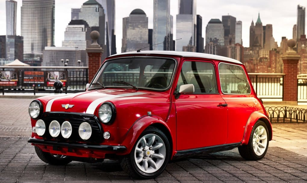 MINI acaba de presentar un increíble modelo 100% eléctrico de su icónico coche
