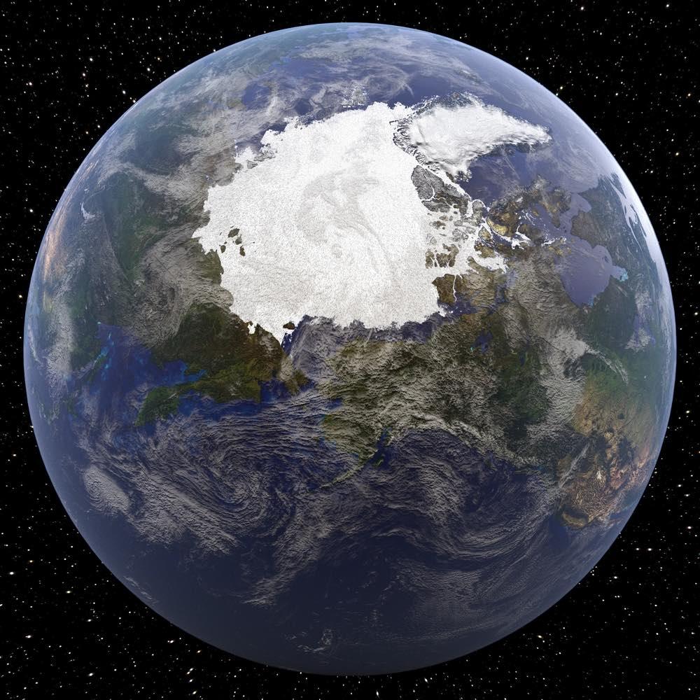 La crisis del vórtice polar: el Ártico se derrite con el fin del invierno