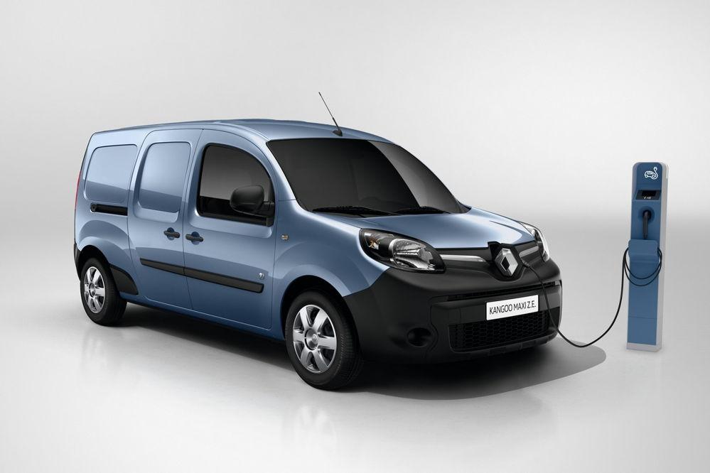 Renault: Kangoo 100% eléctrica