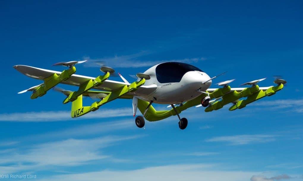 Kitty Hawk está probando taxis eléctricos voladores autónomos en Nueva Zelanda