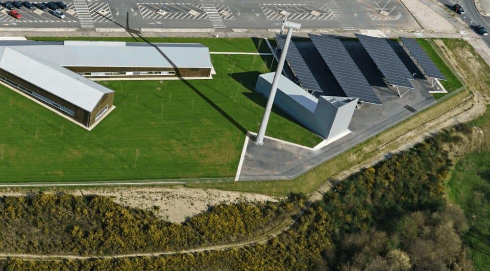 CIne, nuevo edificio de energía cero autoabastecido al 100% por energías limpias y desconectado de la red eléctrica