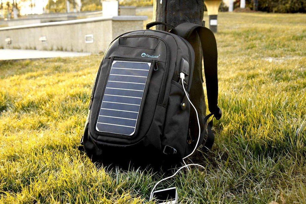 SunPack, la mochila para los amigos de la energía solar