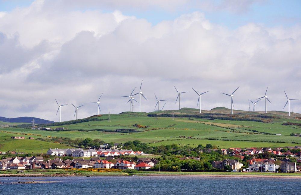 Escocia suministra energía renovable a más de 5 millones de hogares en un mes