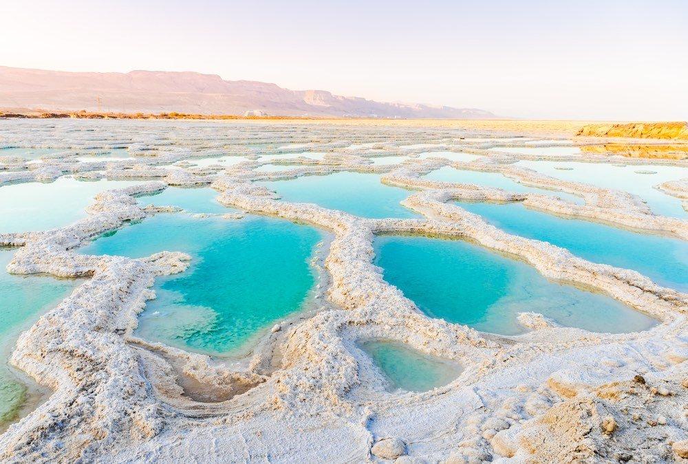 Hidrogeles y energía solar para limpiar hasta el agua del Mar Muerto