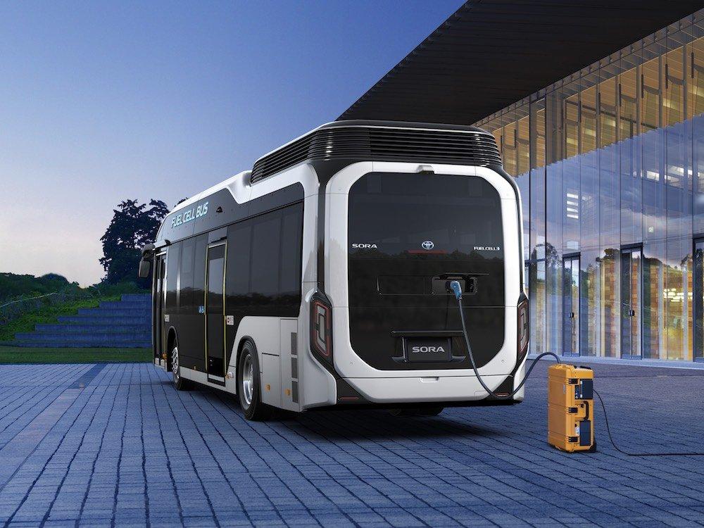 El primer autobús de hidrógeno listo para las olimpiadas de Tokio 2020