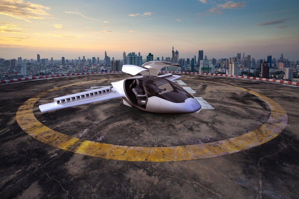 Lillum el primer avión eléctrico de despegue y aterrizaje en vertical