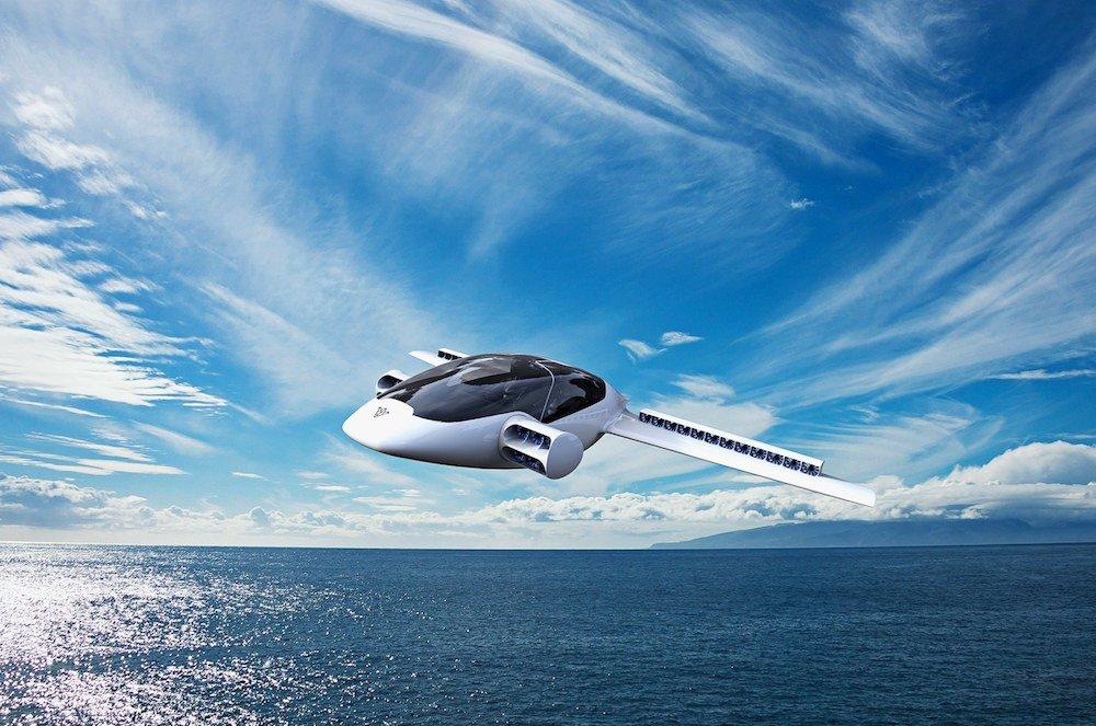 Lillum avión eléctrico