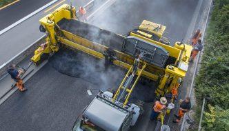 """Neumáticos usados para las """"carreteras recicladas"""" del futuro, silenciosas y a prueba de agujeros"""