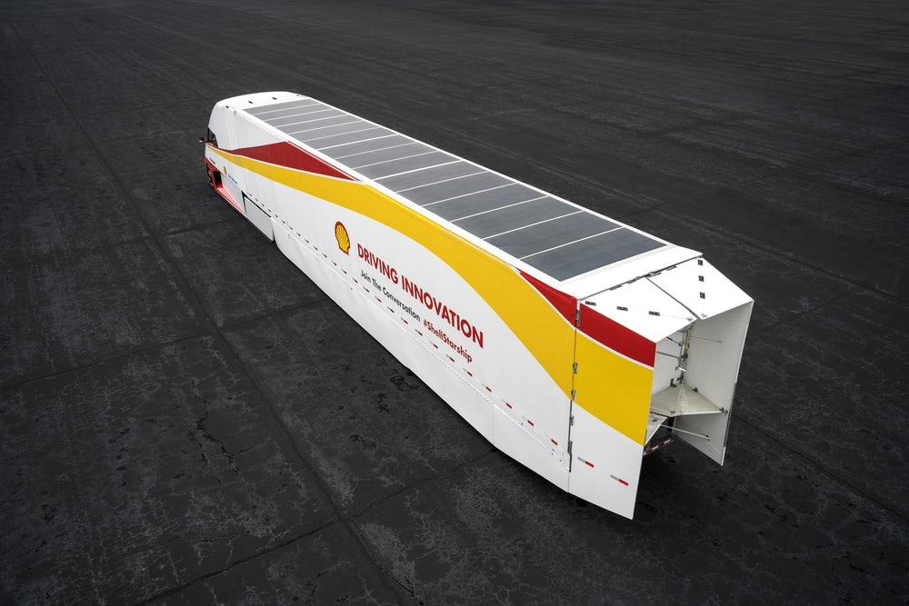 El transporte del futuro lo realizarán camiones solares súper eficientes