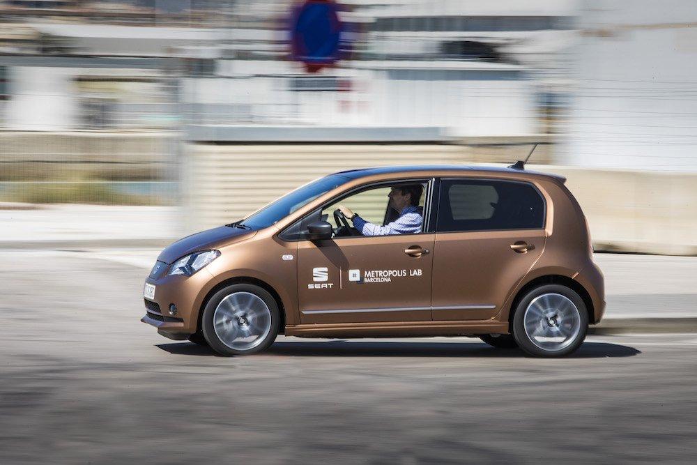 SEAT lanza un programa de coches eléctricos compartidos en Barcelona