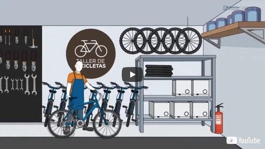 Curso online gratuito de mecánica de bicicletas
