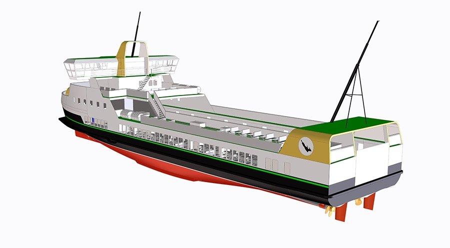 E-ferry, el ferry eléctrico cero emisiones con la batería más grande instalada en un barco