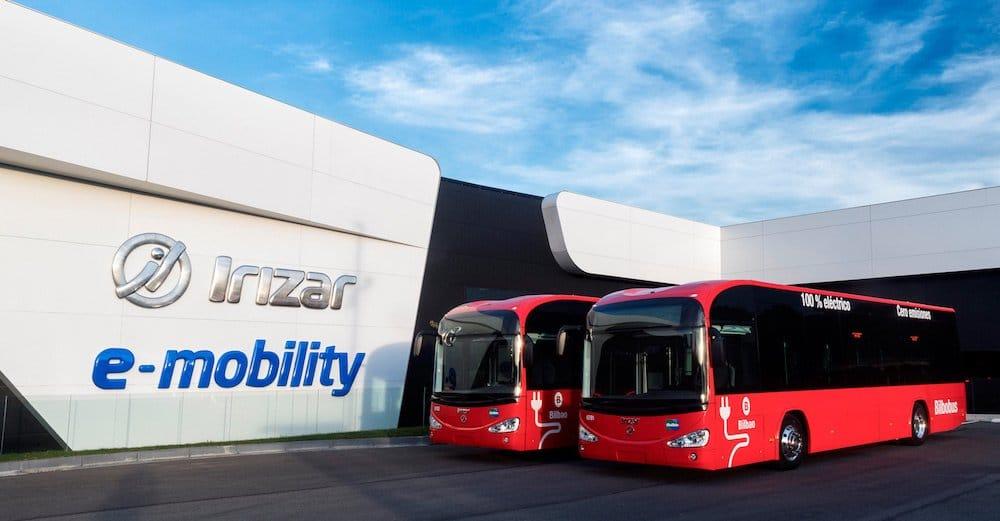 Irizar fabricará en España autobuses y vehículos industriales eléctricos