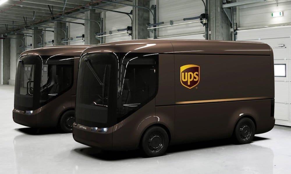 UPS apuesta por una flota de camiones eléctricos para Londres y París