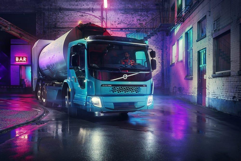 FE Electric, el segundo camión eléctrico de Volvo
