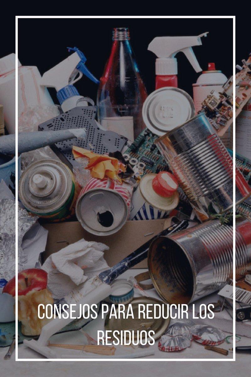 Consejos para reducir los residuos