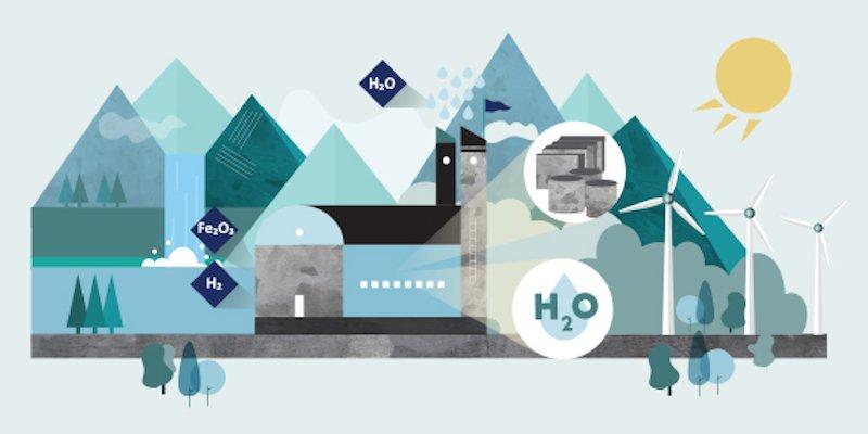 En Suecia nace Hybrit, la primera siderurgia del mundo que funciona con hidrógeno