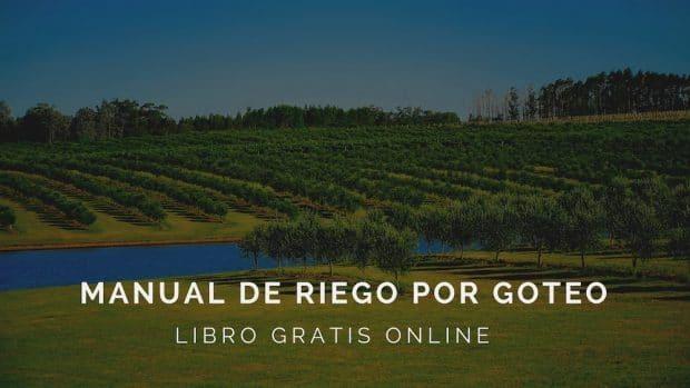 Manual online gratis de riego por goteo