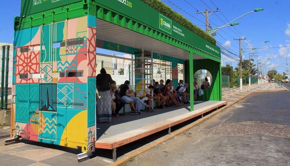 Parada-bus-solar-contenedor