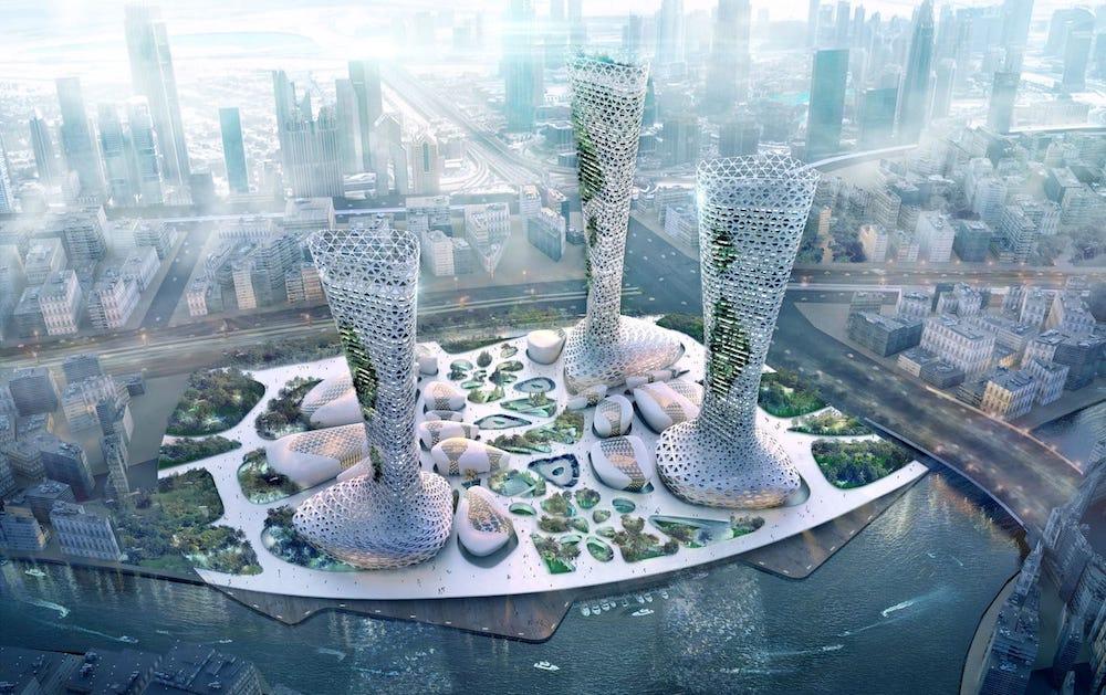 Arquitectura simbiótica, arquitectura bioclimática inteligente que se adapta al entorno