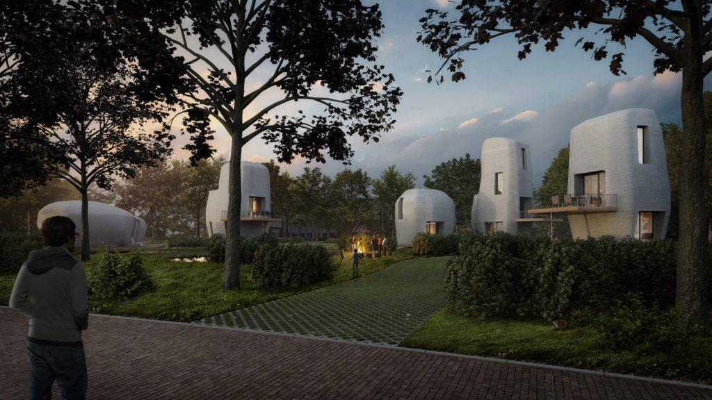 Las casas de hormigón impresas en 3D llegan a Holanda
