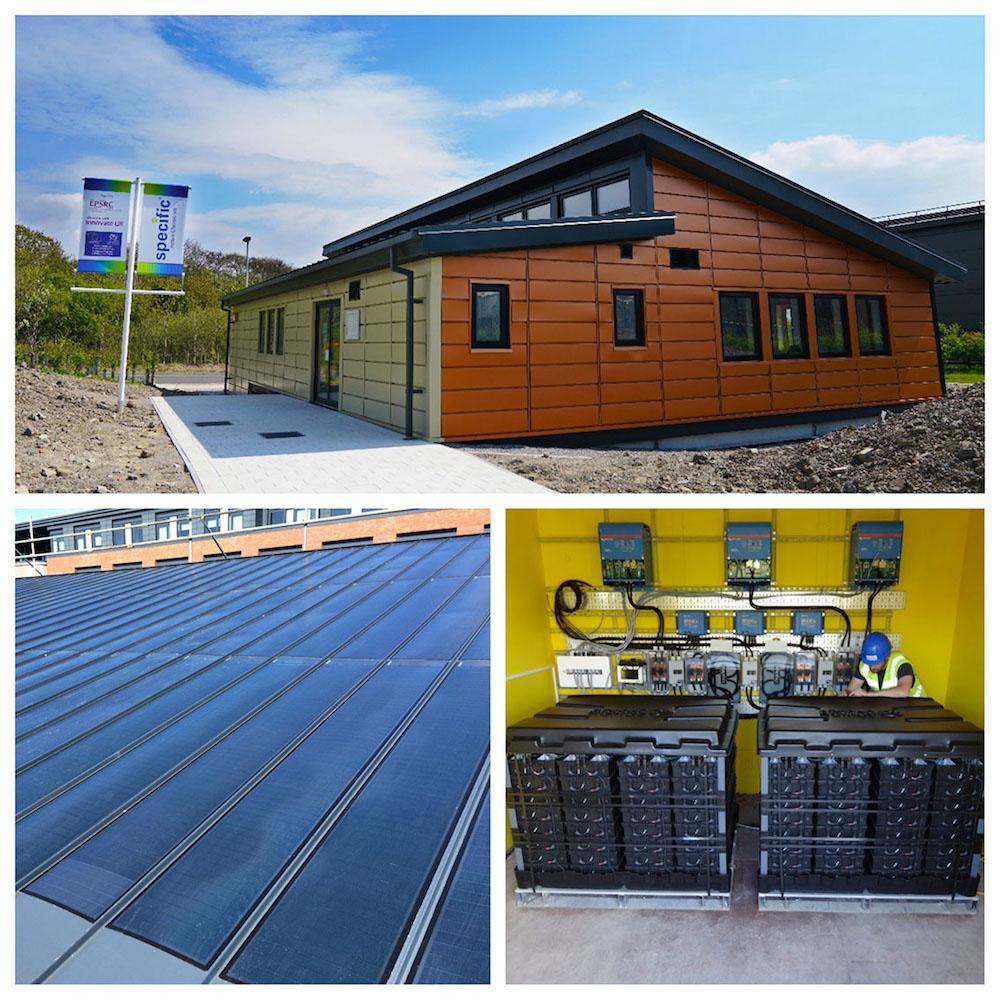El aula en el Reino Unido que produce más energía de la que consume