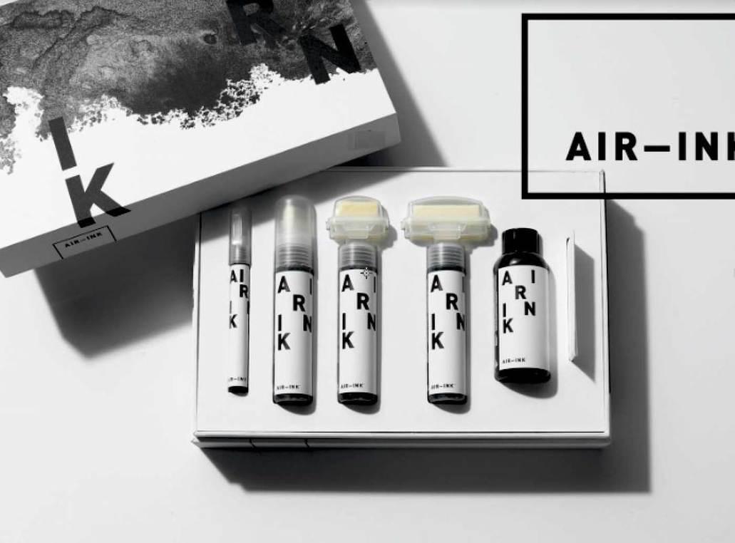 Air-Ink, aire contaminado convertido en tinta