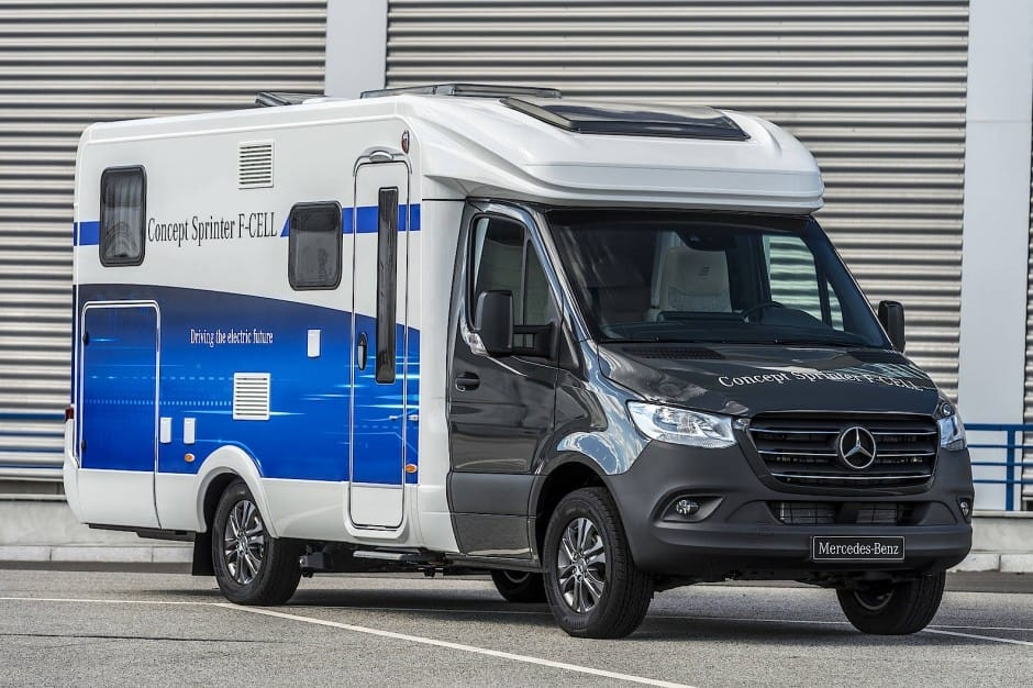 Autocaravana Mercedes-Benz Sprinter F-Cell