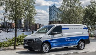 Mercedes-Benz eVito, la nueva Vito eléctrica cero emisiones