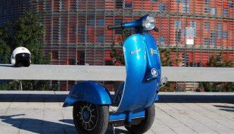 Z-Scooter, un segway vintage eléctrico fusión de estilo y tecnología