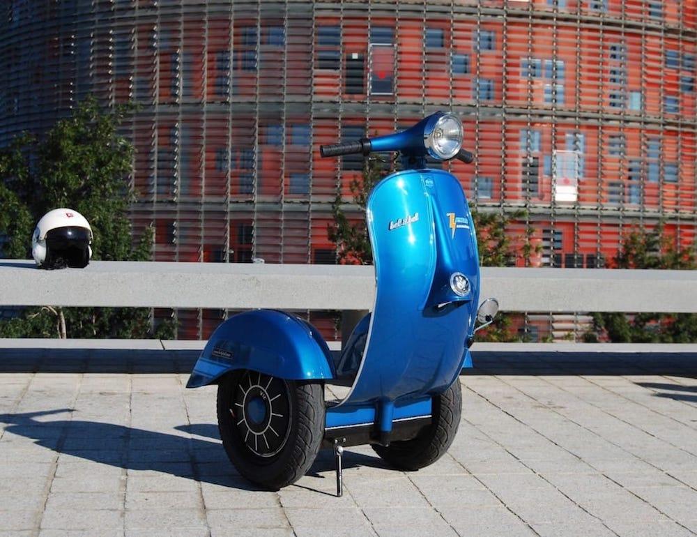 Z-Scooter, un segway vintage eléctrico