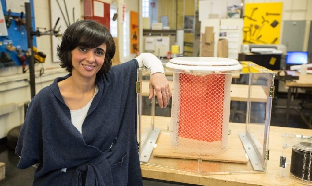 Inodoro portátil capaz de evaporar el 95 % de las aguas residuales
