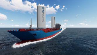 Velas rígidas para reducir el consumo de combustible del transporte marítimo en un 40%