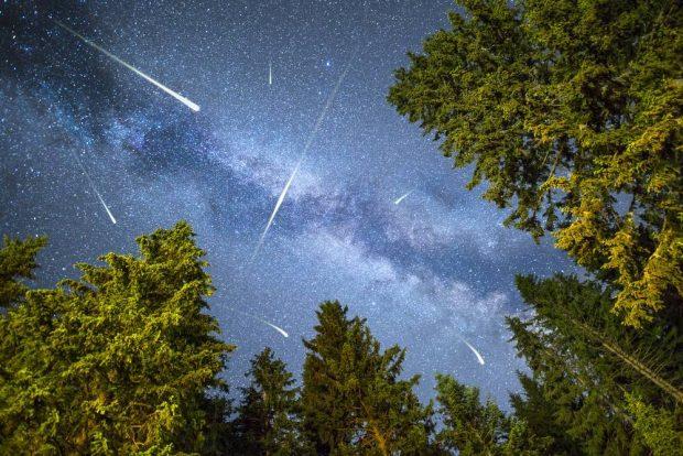 Las estrellas fugaces de San Lorenzo