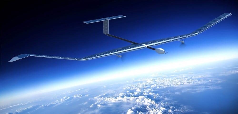 Zephyr, el avión solar de Airbus