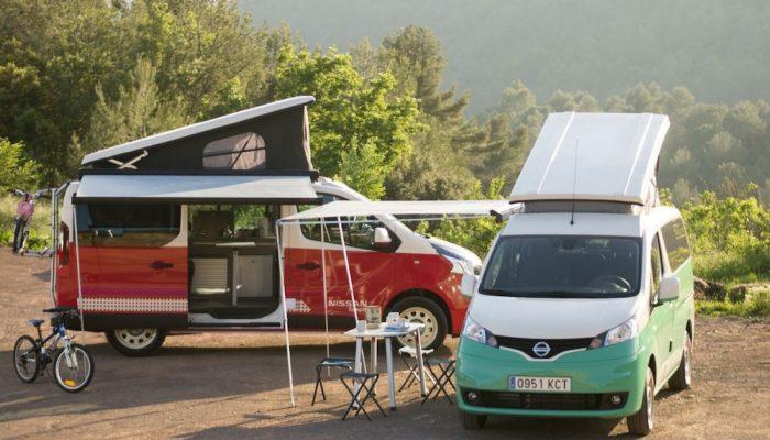 Nissan estrena furgonetas eléctricas camper para tus aventuras veraniegas