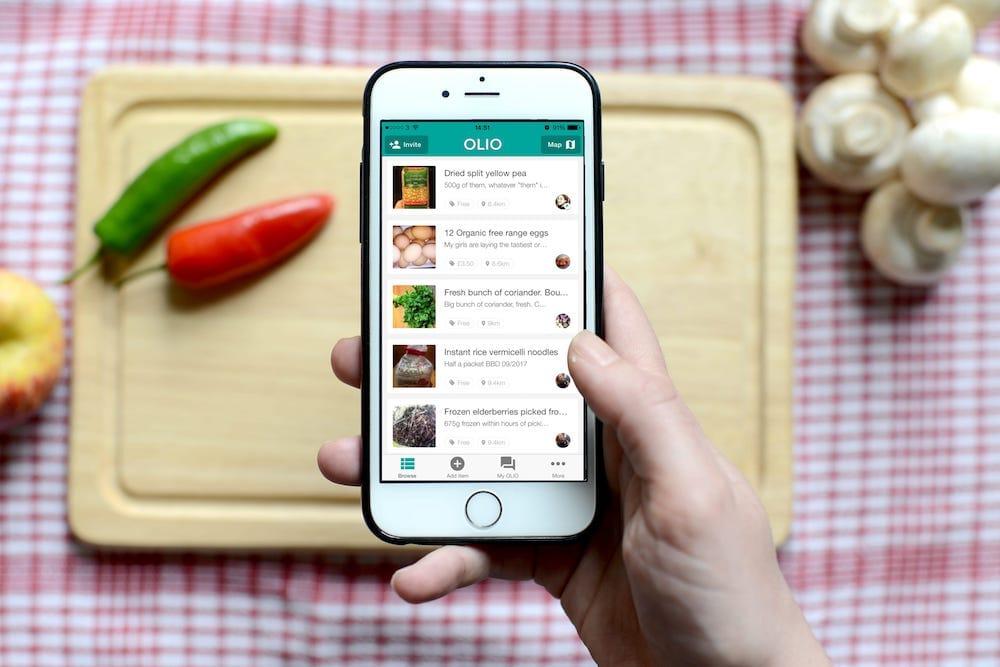 OLIO, la revolución de compartir alimentos