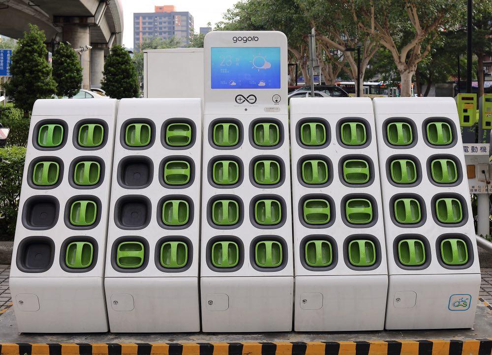 Banco de baterías Gogoro